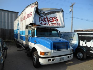 Central Texas Collision Commercial Auto Repair Atlas Van Lines Before