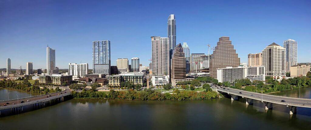 Austin, Texas, city landscape