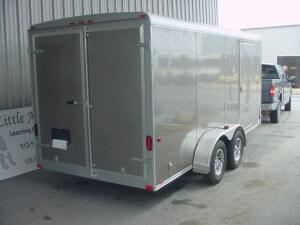 Cargo trailer repaired
