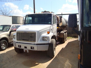 County Commercial Truck After repair