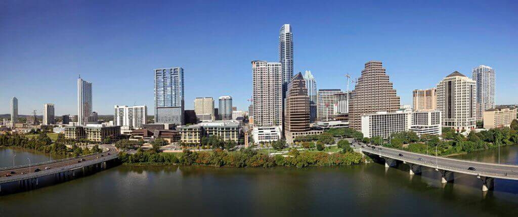 Austin, Texas, city landscape