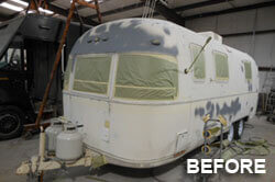 camper before paint job